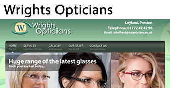 Wrights Opticians Leyland